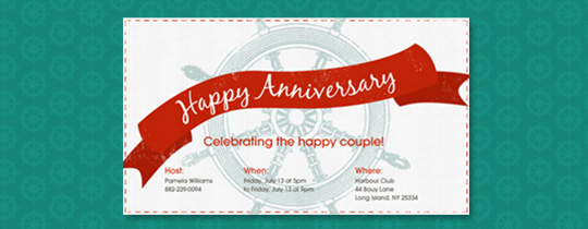 anniversary, boat, cruise, happy anniversary, helm, sail, sailboat, sailing, ship, steer, steering, wheel