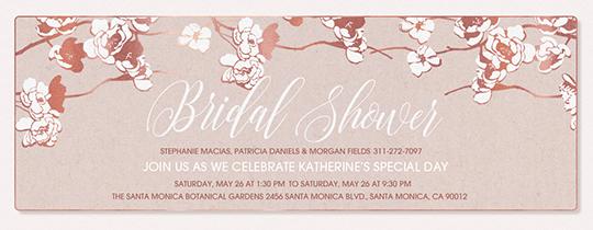 Bridal Shower free online invitations – Free Wedding Shower Invitation Templates