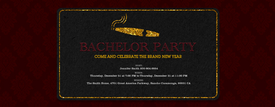 bachelor, cigar, guys, night, party, vegas