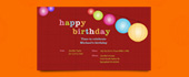 birthday, colorful, lantern, paper lantern