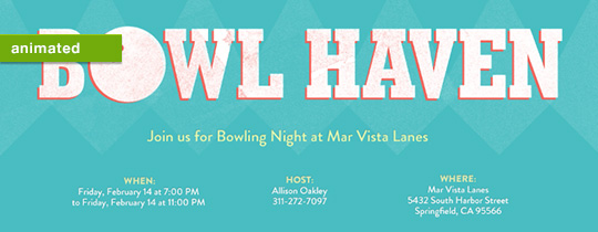 Bowl Haven Invitation