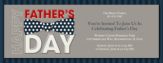 Father's Day free online invitations
