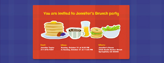 Brunch Bites Invitation