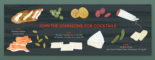 Cheese Board Invitation