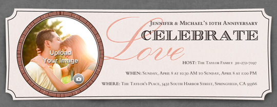 Circle of Love Invitation