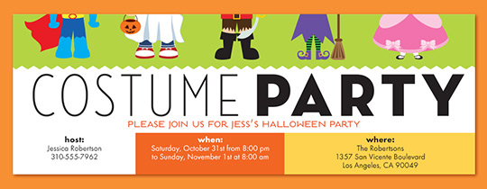 Halloween free online invitations – Template for Halloween Party Invitation