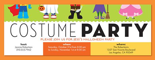 Halloween free online invitations