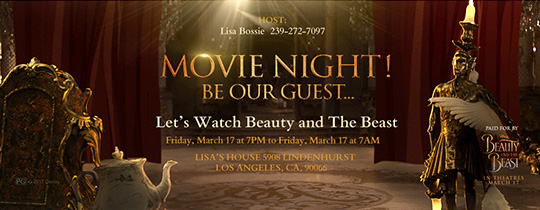 Movie Guest Invitation