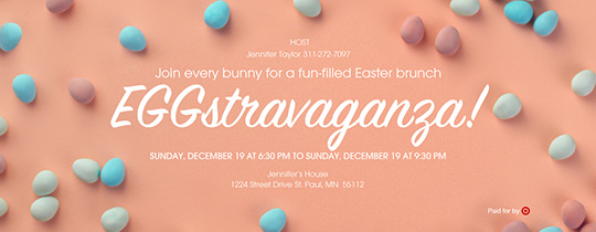 EGGstravaganza! Invitation
