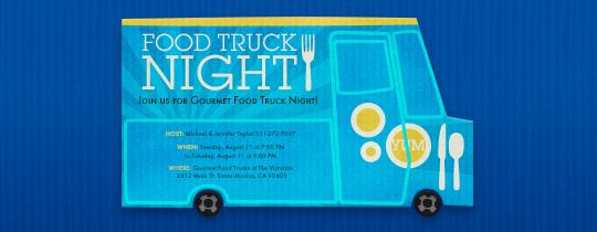 food truck, food, blue,