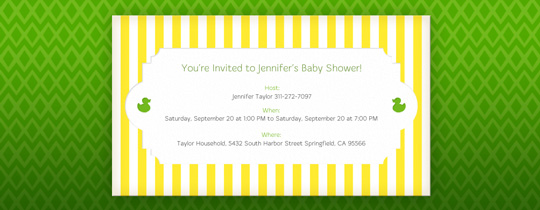 baby, baby shower, duck, rubber ducky