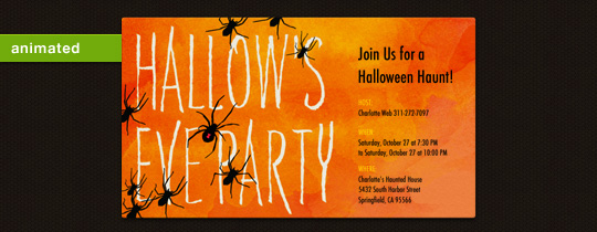 Hallow's Eve Invitation