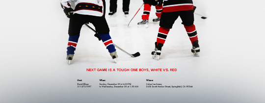 Hockey Players Invitation