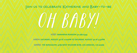 baby, baby shower, chevron, lime, green, patterns,