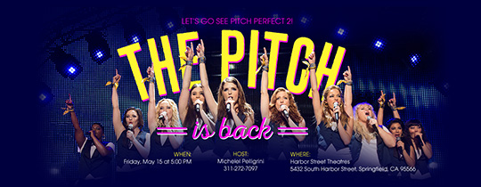Pitch Perfect, viewing party, movie, movie night,