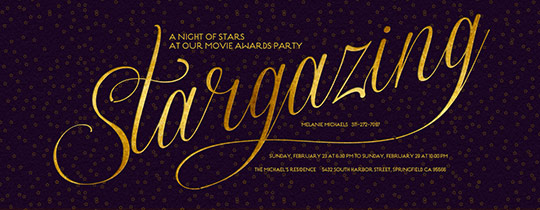 Stargazing Invitation