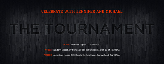 The Tournament Invitation