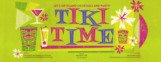 tiki, aloha, luau, hawaiian, cocktails, outdoor, backyard, hawaii,