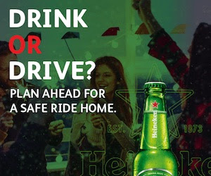 "Heineken, Evite & Uber Ask: ""Drink OR Drive?"""
