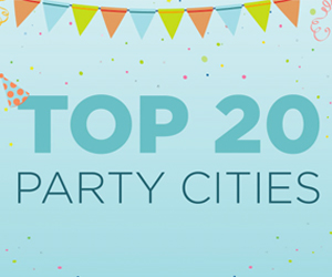 Evite Reveals Top Party Cities of 2016