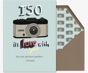 Iso In Love Invitation