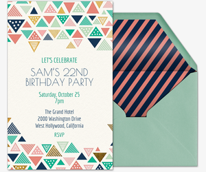 Tri Chic Invitation