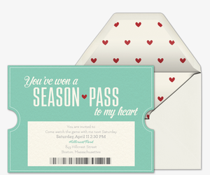 Season Pass Date Invitation