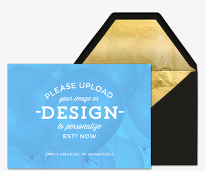 Design Your Own free online invitations