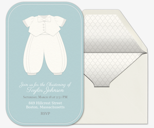 Baptism Wear Invitation