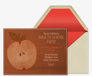 Country Apple Invitation