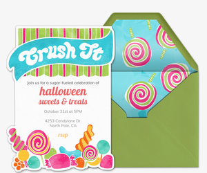 Sweet Tooth Invitation