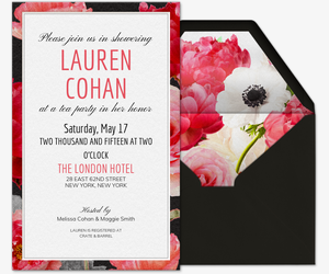 Love Blooms Invitation