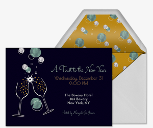Get Your Bubbly On Invitation
