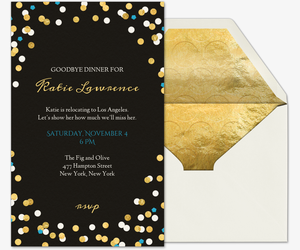 Dinner party invitations evite be our guest invitation thecheapjerseys Image collections