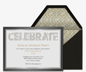 Office Holiday Party Online Invitations | Evite.com