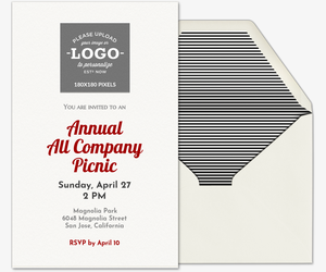 free corporate professional office event invitations evite