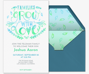 New Family Member Invitation