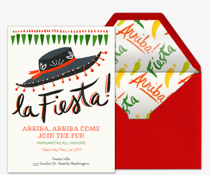 La Fiesta Invitation