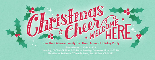 Christmas free online invitations – Online Christmas Party Invitations