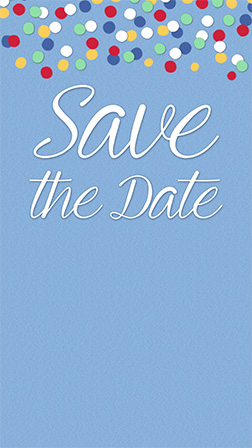 Save the Date Evite Greenery Digital Template Instant Download Smartphone Electronic Invitation REESE Save Our Date Evite