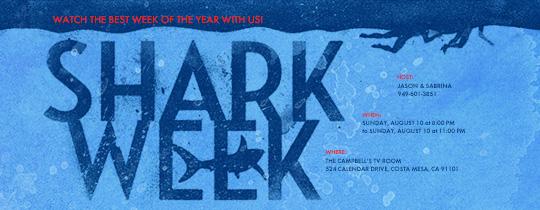 Lurking Shark Invitation