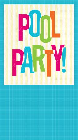 Free Pool Party Invitations Evite