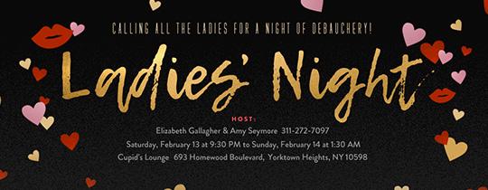 Girls Night free online invitations Evite
