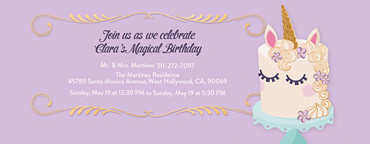 Free Kids Birthday Invitations Online Invites For Children - Birthday invite free template