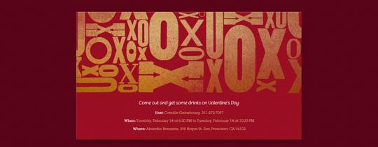 X and O Invitation